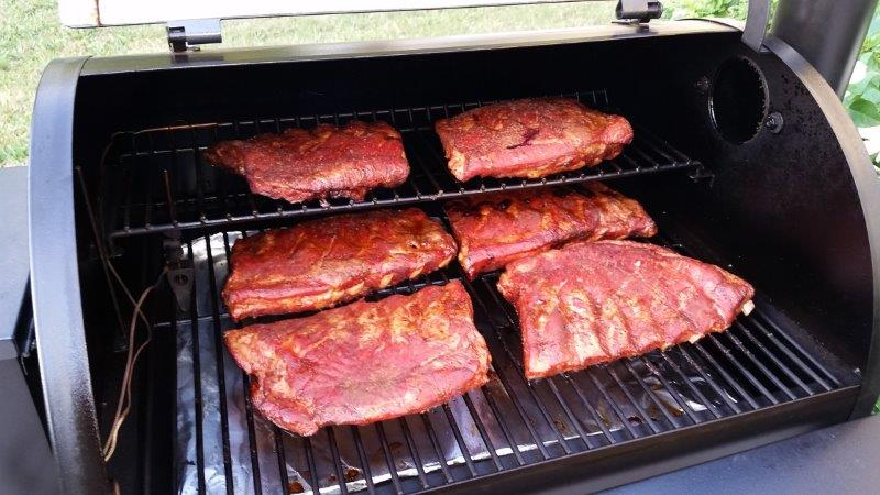 Smoked-BBQ-Spare-Ribs